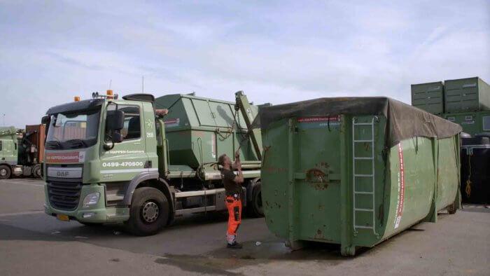 Van Happen Containers afval